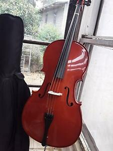 New Stentor cello, with bow and bag Hepburn Hepburn Area Preview