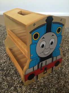 Thomas train carrier storage box wooden  Wilton Wollondilly Area Preview
