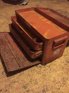 Steel toolbox with drawers-lockable Aberdeen Devonport Area Preview