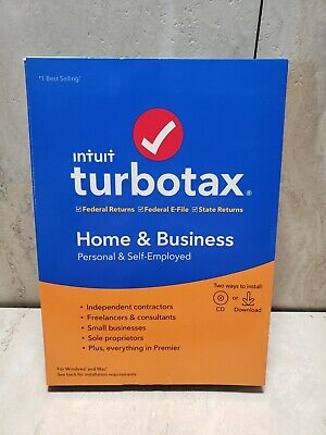 intuit turbo tax Home & Business