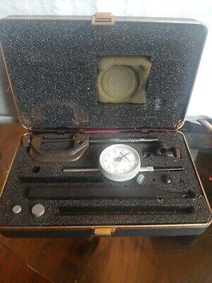 Vintage Pratt Whitney Micrometer Bar Set Model J299
