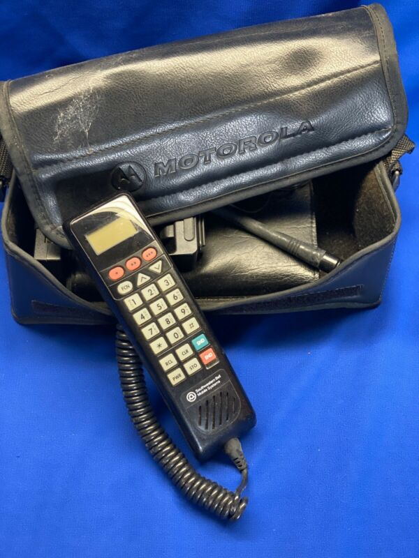 Vintage Motorolla Bag Phone
