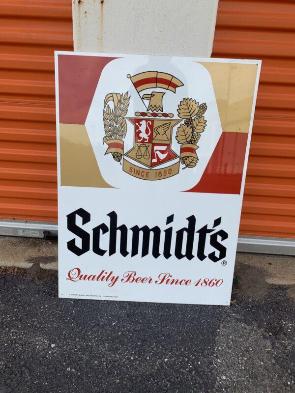 Vintage Schmidt's Beer sign  32x24