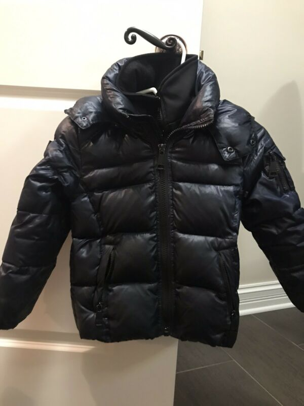 SAM. New York Toddler Boys Glacier Goose Down Puffer Jacket Midnight Blue Size 6
