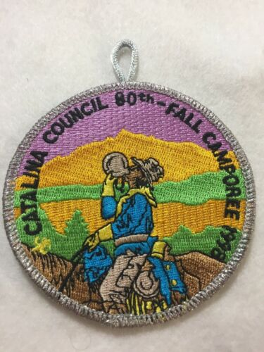 (rt5) Boy Scouts-    nice Catalina Council Fall Camporee  patch