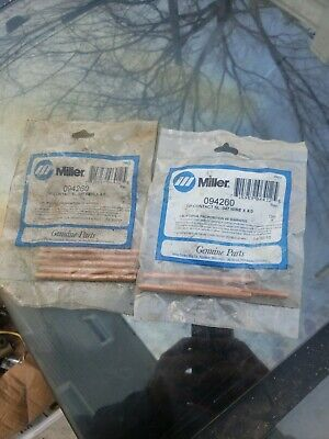 Miller 094260 Tip Contact Sl .047 Wire X 4.000 8 New Tips