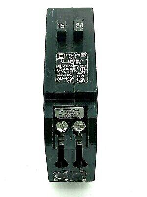 Homeline Homt1520cp 1520 Amp 1 Pole 120240vac Mini Tandem Square D Breaker