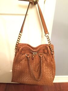 brown MICHEAL KORS genuine leather purse