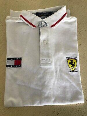 Formula 1 Tommy Hilfiger Ferrari Michael Schumacher race 90s pit crew shirt-NEW Formula 1 Pit