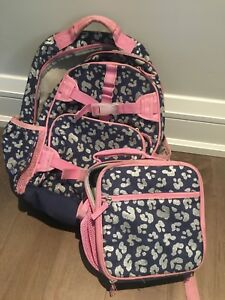 Pottery barn kids backpack and lunch bag