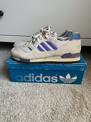 Adidas Quorum 1990 Uk 10.5 With Og Box Vintage