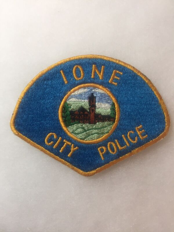 Ione California Police Patch
