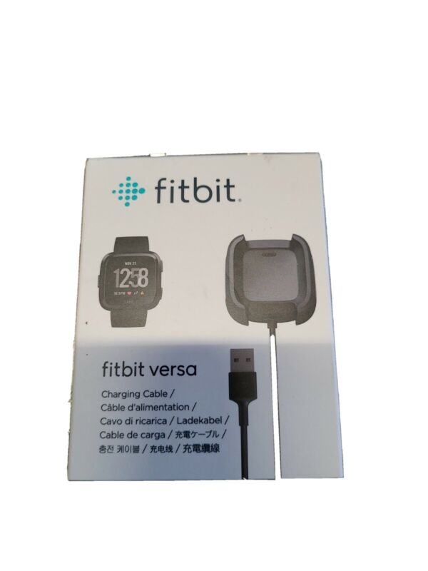 USB Charging Cable Power Charger Dock Cradle For Fitbit Versa 1 Smart Watch