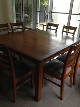 9 piece dining set Hawthorne Brisbane South East Preview