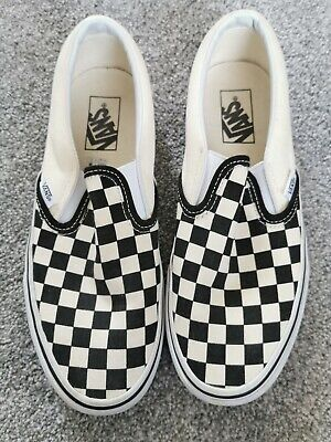 Vans classic checkerboard shoes size 6 - Very good condition