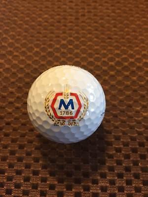 Logo Golf Ball Molson Coors Beer       Prov1 Ball