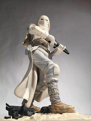 Star Wars Kotobukiya 1/7 SNOWTROOPER Statue - Mandalorian Stormtrooper Sideshow