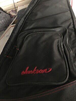 Used Black Jackson Soft Zippered Guitar Case