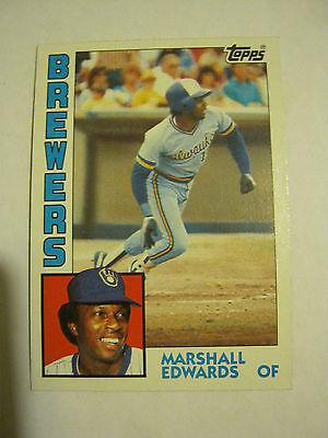 1984 Topps  167 Marshall Edwards Baseball Card   Gs23 21