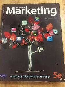 Principles of Marketing 5e Armstrong Adam Denize Kotler Wynnum Brisbane South East Preview
