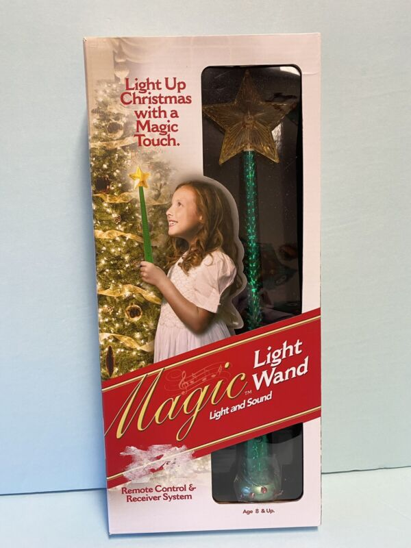 New Magic Light Up Wand Christmas Tree w/ Touch Sound Remote Control (A)