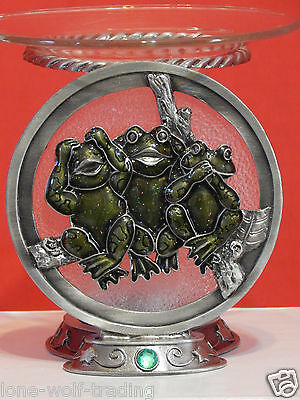Three LiL Frogs Tart Dish Burner