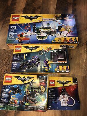LEGO Batman Movie Lot 70902 70913 70919 New Sealed Plus Kiss KISS Tuxedo Batman