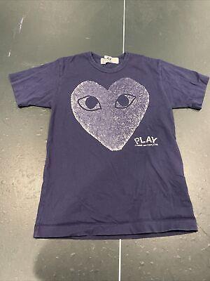 Mens Play Comme Des Garçons Heart Shirt Small (M*, Check Description!)