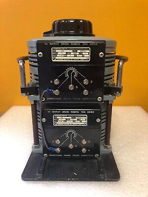 Superior Electric Powerstat 136b-2 140 V 3.1 Kva Variac Autotransformer Tested