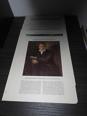 Hamburg Archiv Edition - 5x Blätter Nr. 1105 + 2065 + 3350 + 4155 + 5255 (Edition Blätter)