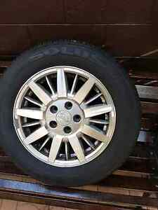 Ford Fairmont wheel with tyres Blackstone Ipswich City Preview