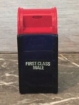 Avon 1970's Collectible First Class Male Box Bottle