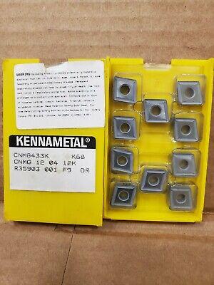 New Inserts Kennametal Cnmg 433k  K68