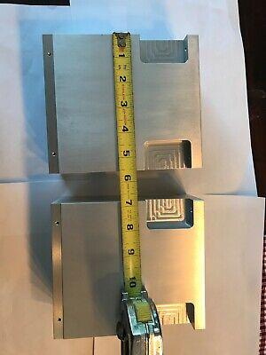 2 Pc 6 14 X 5 12 X 2 34 Thk 6061 Aluminum Plate Flat Bar Stock Block Used