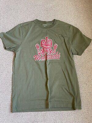 Maharishi Green Red T-Shirt L