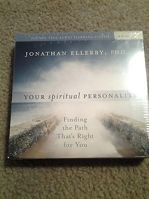 Jonathan Ellerby PH.D YOUR SPIRITUAL PERSONALITY 8 CD Set ~New/Sealed~