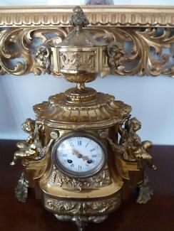 C19 French mantle clock