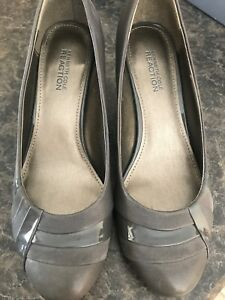 Kenneth Cole Reaction Gray Pumps 8