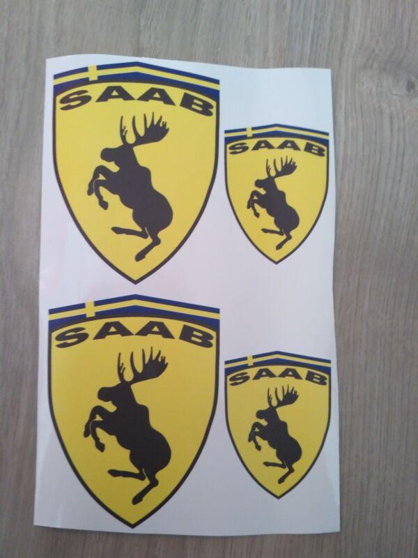 Stickers SAAB Elk 4pcs