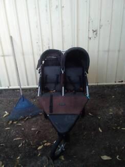 Two seater pram