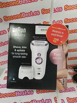 Depiladora eléctrica BrAun Silk·épil 9 9-710 SensoSmart Wet & Dry Nuevo