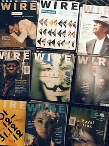 The Wire Magazine (UK) back issues