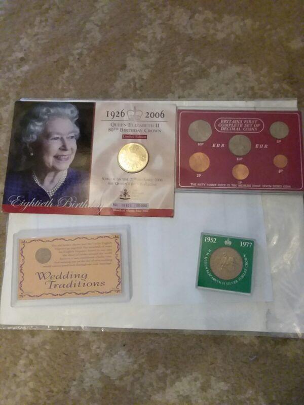 British coin set lot