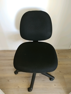 Office Chair Black Height And Back Adjustable