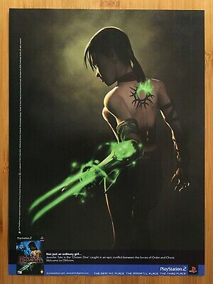 Primal PS2 2003 Vintage Game Print Ad/Poster Official Authentic UK Advertisement