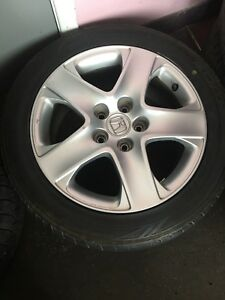 Honda rims and tires available 235/50/R17 Available