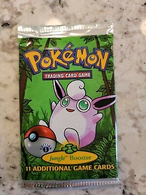 pokemon jungle booster pack 1st edition sealed