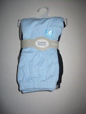 Luvable Friends Baby Cotton 4 Pants, 12-18 Months