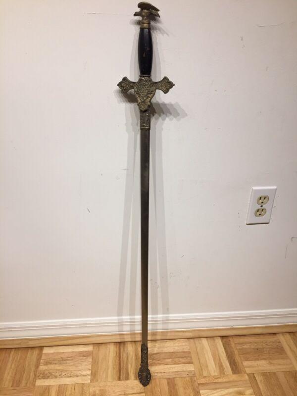 Knights Of Columbus Sword & Eagle Pommel 1st Edition Pattern &  3rd Degree Sword