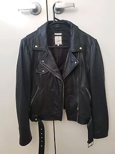 Zara Womens Faux Leather Jacket Kellyville The Hills District Preview